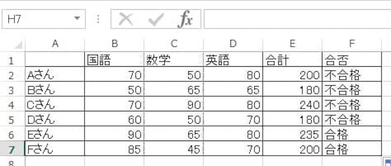 AND関数とIF関数を組み合わせた使い方③
