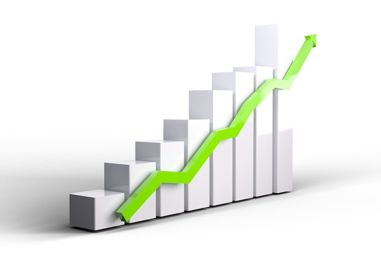 【具体例】棒グラフと折れ線グラフを重ねる複合グラフの作り方と第2軸の設定方法