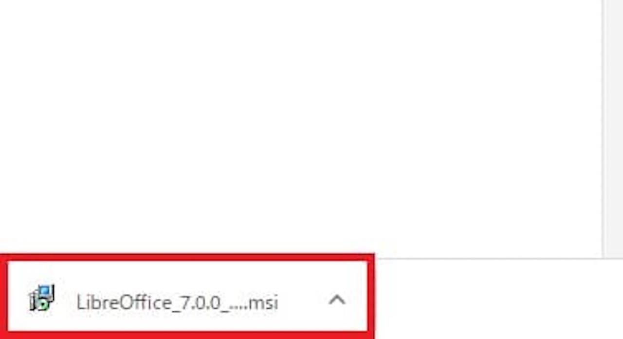 Windows10でLibreOfficeをインストールする方法④