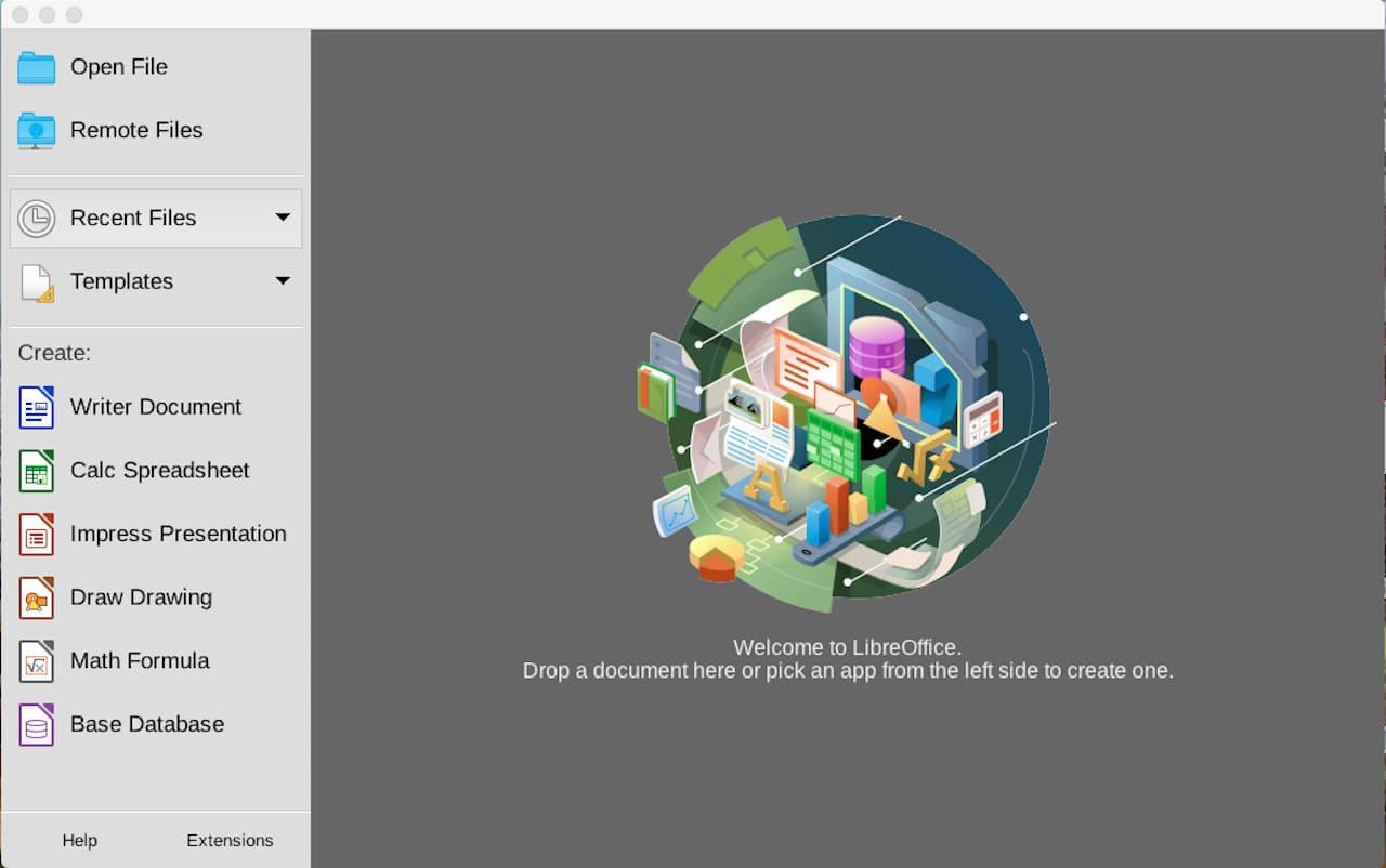 MacでLibreOfficeをインストールする方法⑫