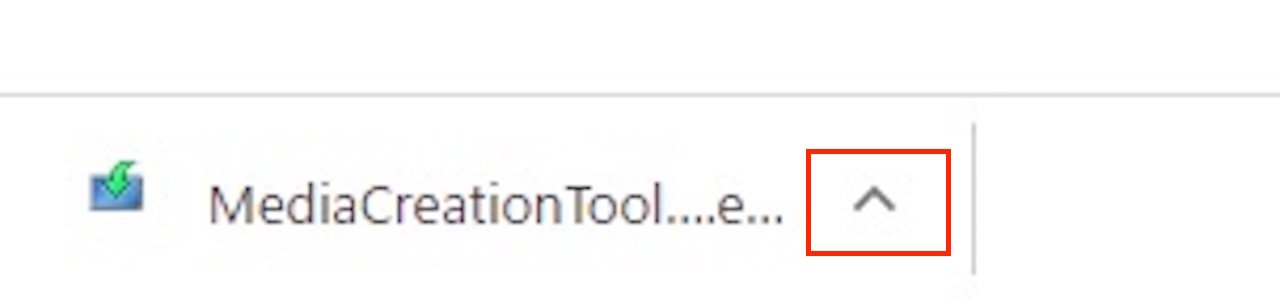 Windows10のインストール用USBメモリの作成方法③