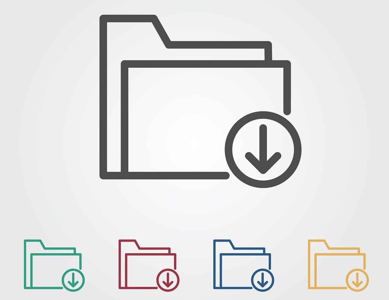ダウンロードファイルの保存先を指定のフォルダへ変更する方法【Windows10&Mac共通】