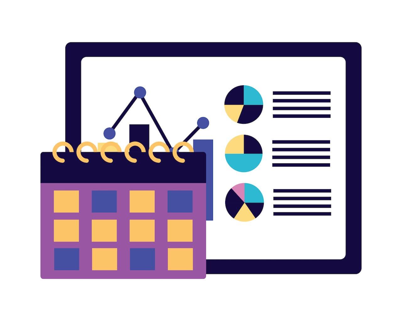 【Excel】EDATE関数を使って、年度を表す方法